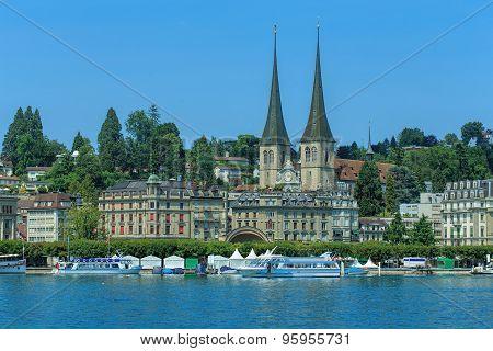 Lucerne Cityscape