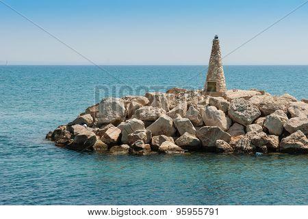 Marina Entrance Larnaca. Cyprus