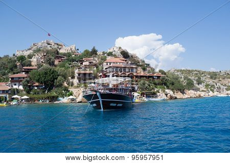 Boat trips in Turkey