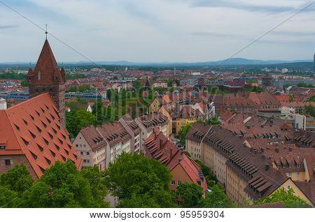 Roofs, Nuremberg.