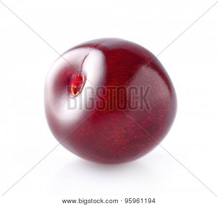 One ripe cherry