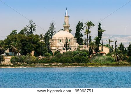 Hala Sultan Tekke At Cyprus