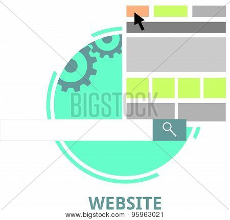vector - website