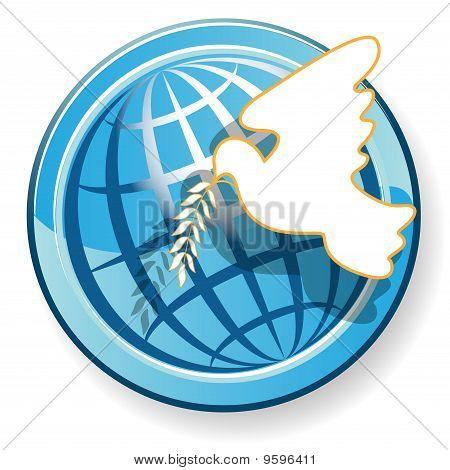 dove and globe