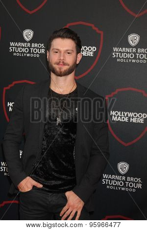 LOS ANGELES - JUL 14:  Henry Byalikov at the Warner Bros. Studio Tour Hollywood Expansion Official Unveiling, Stage 48: Script To Screen at the Warner Brothers Studio on July 14, 2015 in Burbank, CA