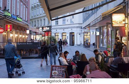 Restaurant In Bratislava, Slovakia