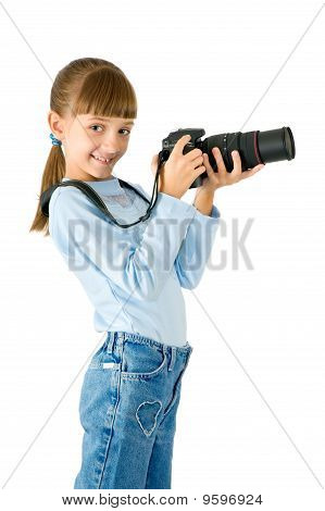 The Girl - Photographer