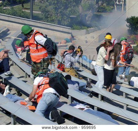 Mock Community Disaster Excercise