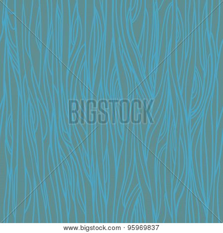 Hand Drawn Vector Seamless Pattern - Wood Texture