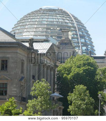 Reichtag Dome Exteriour
