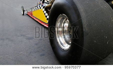 Dragster Race Car