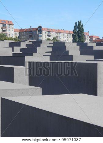 Holocost Memorial, Berlin