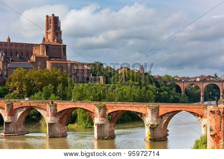 View Of The Albi, France