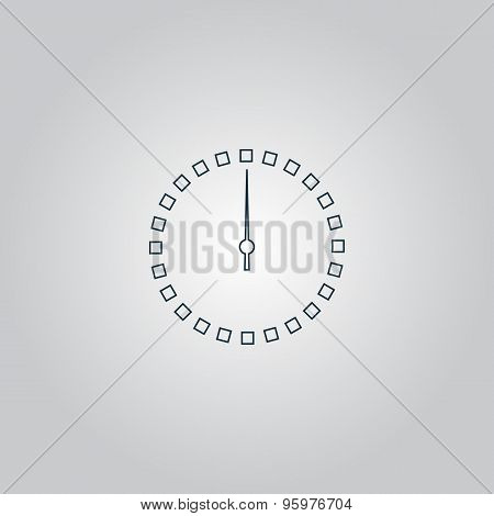 Scales Screen Circle Icon