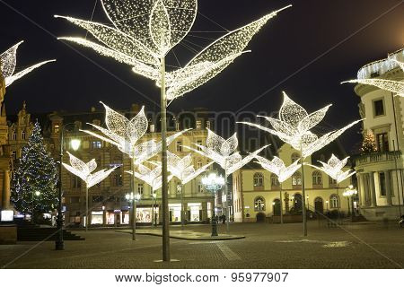 Wiesbaden In Germany During Christmas