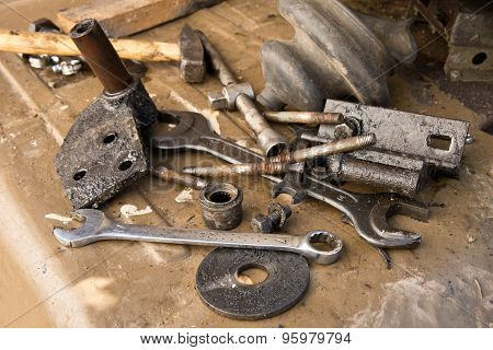 Old Used Tools