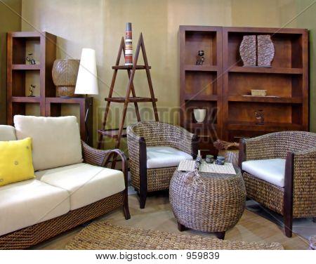 Rattan Living Room