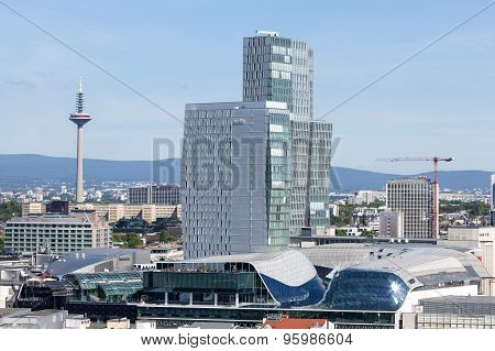 The Nextower In Frankfurt Main, Germany