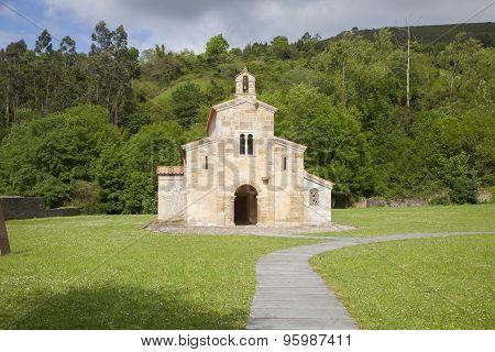 Facade Of San Salvador Valdedios Monastery