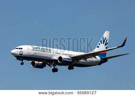 Boeing 737-800 Of The Sunexpress Airline