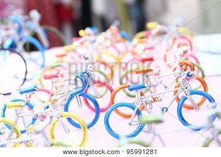 Bicycle Model Toy