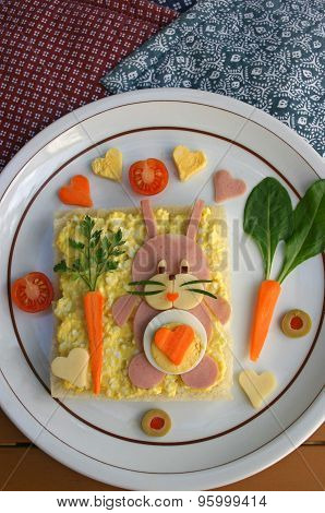 Creative snack for kids