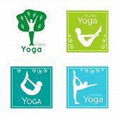 Постер, плакат: Yoga logo