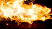 picture of torches  - Burning Man Human Torch  - JPG
