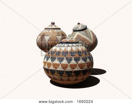Zulu Baskets and Shadows