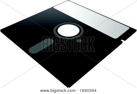 Un disquete de 5 1/4