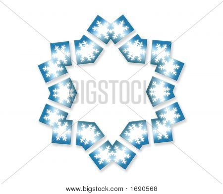 Snowflake Star Six Sided