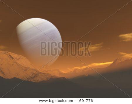 Subida del planeta gigante