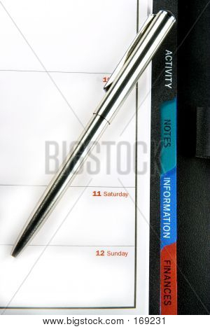 Organizer And Pen