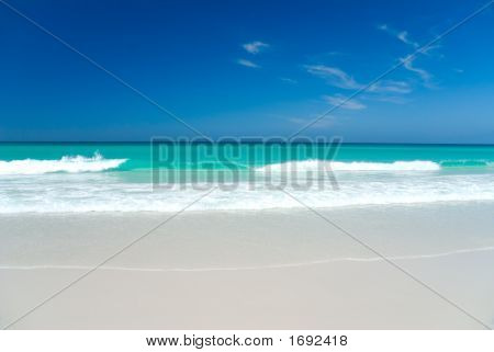 Perfect White Beach