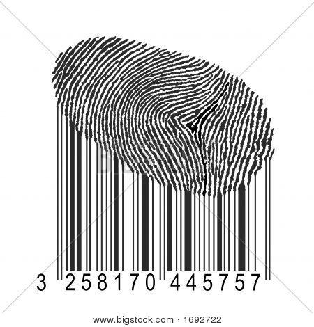 Fingerprint With Bar Code