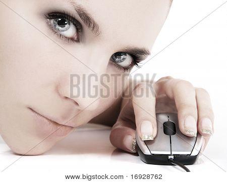 Cyber Mädchen