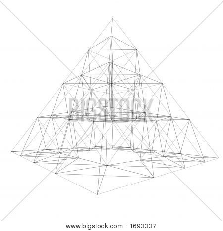 Pyramid Wire-Frame