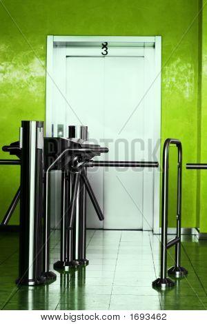 Corporate Building Elevator