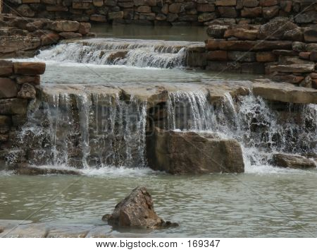 Man-made Waterfall