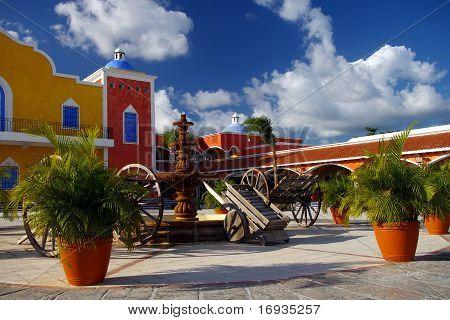Spanish Colonial Hacienda
