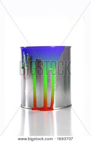 Paint Bucket Rainbow