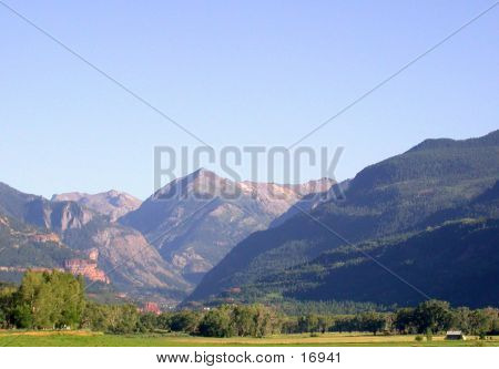 Uncompahgre Valley In Summer