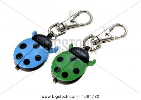 Ladybird Keychain