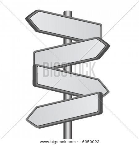 Vector de señal de dirección