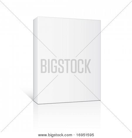 vector 3d paper box