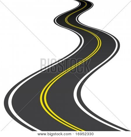 estrada de vetor