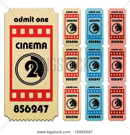vector cinema tickets