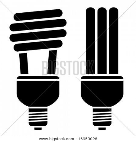 vector fluorescent compact bulbs