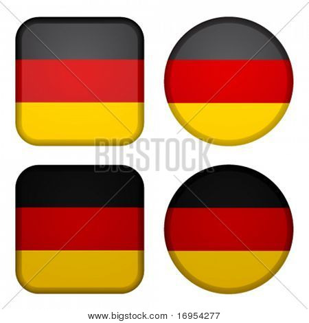 Vector germany flags