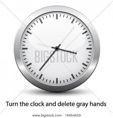 vetor de relógio - fácil alterar tempo